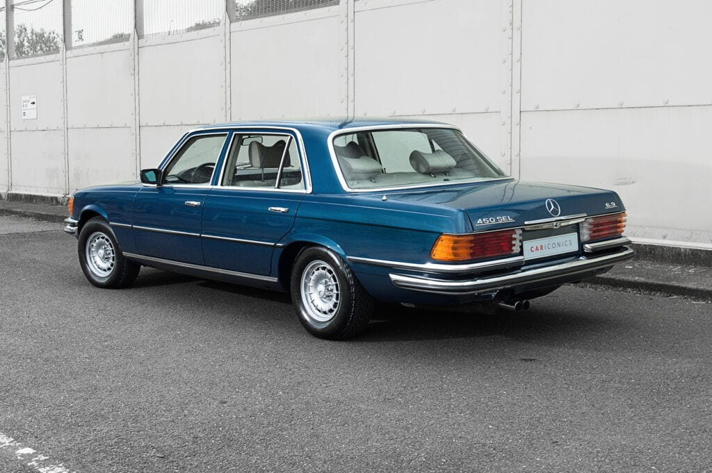 003_Mercedes450Sel_CarIconics_July2020_D4J7398