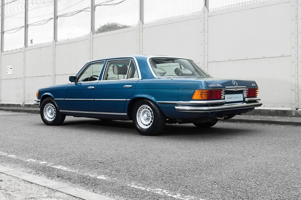 004_Mercedes450Sel_CarIconics_July2020_D4J7401
